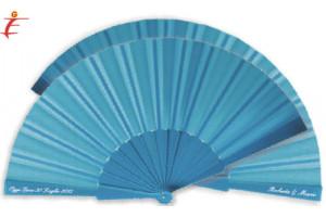 Ventaglio azzurro colora il tuo matrimonio
