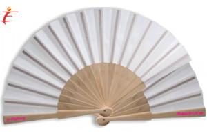 Ventaglio Bianco in legno consegna rapida