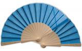 Ventaglio azzurri in Legno