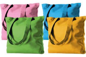 Wedding Bag in cotone colorata
